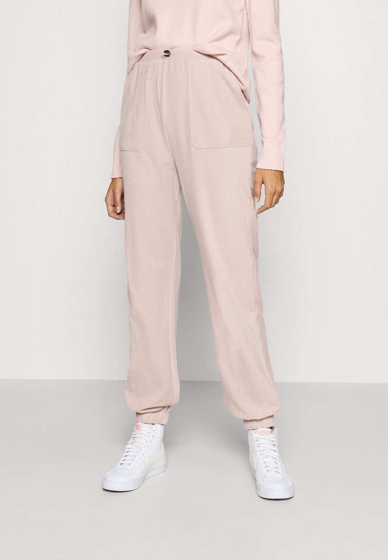 ONLY - PANT - Tracksuit bottoms - misty rose