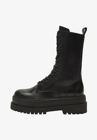 Mango - MONET - Lace-up ankle boots - schwarz - 1