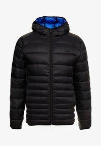 Jack & Jones - JJEBOMB PUFFER HOOD - Winter jacket - black - 3