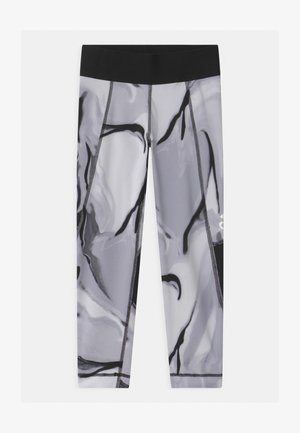 ASK UNISEX - Legging - dash grey/glory grey/black