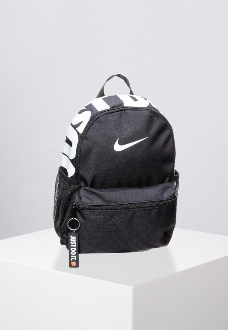 Nike Sportswear - BRASILIA UNISEX - Rucksack - black / white