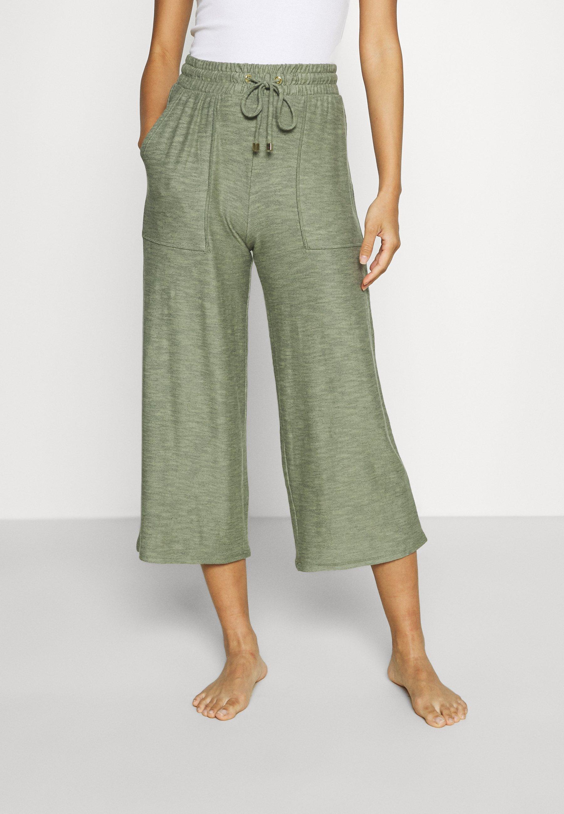 Donna FLEXIFIT CROP - Pantaloni del pigiama - soft