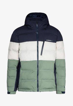 BLUR  - Snowboardová bunda - green spray