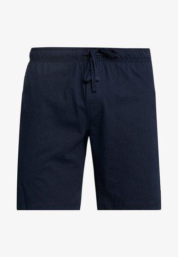 SLEEPWEAR TROUSERS SHORTS  - Pyjama bottoms - dark blue