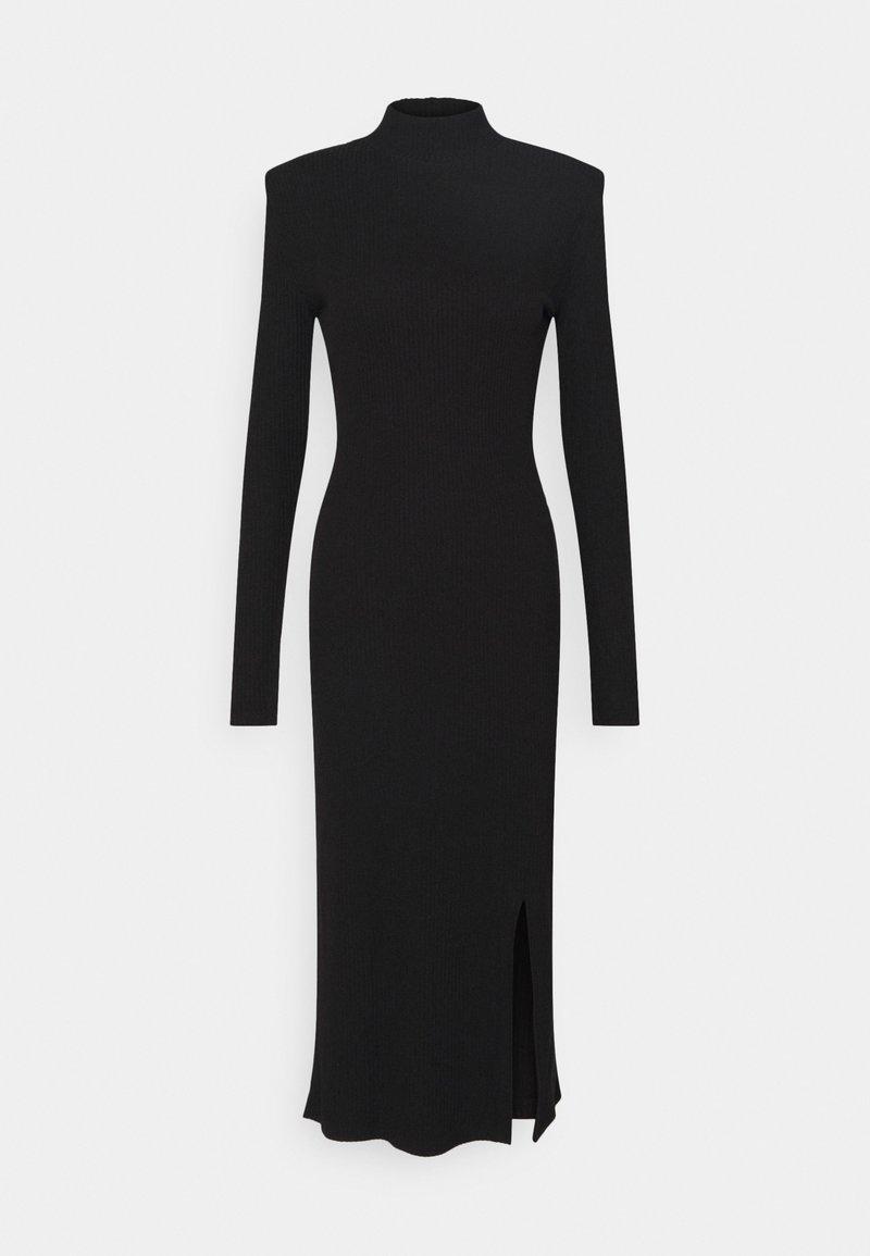 Gina Tricot - SOPHIA DRESS - Strikket kjole - black