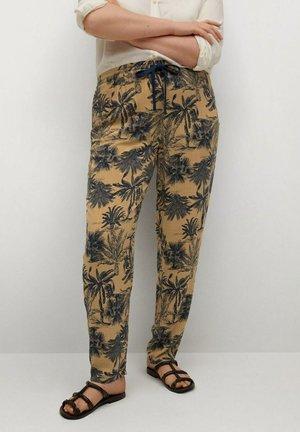Trousers - mellanbrun