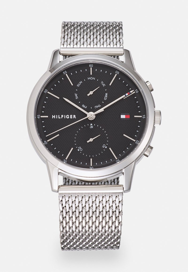 Tommy Hilfiger - EASTON - Watch - silver-coloured