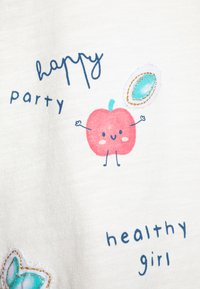 OVS - WITH PRINT 2 PACK - Longsleeve - cloud dancer/confetti - 4