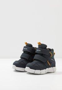 Geox - FLEXYPER BOY ABX - Winter boots - navy - 3
