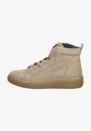 Höga sneakers - beige