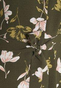 Anna Field - Shirt dress - khaki/pink - 2