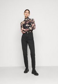 River Island Tall - Jeans a sigaretta - washed black - 1