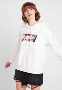 Levi's® - GRAPHIC HOODIE - Hoodie - white - 0
