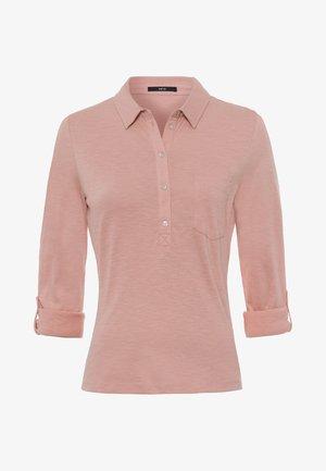 Polo shirt - misty rose