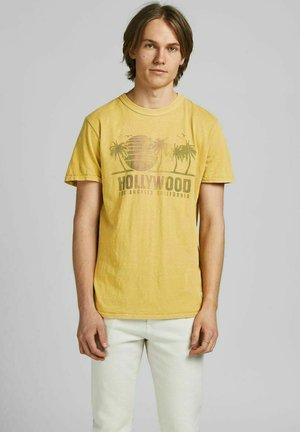Print T-shirt - sauterne