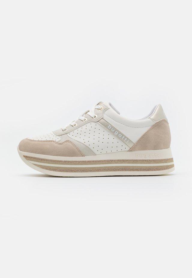 LIN - Zapatillas - beige/offwhite