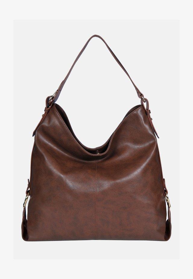 Käsilaukku - antik braun