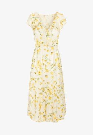 MIT GELBEN BLUMEN - Day dress - yellow