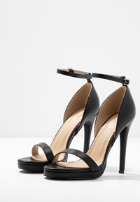 RAID - REAGAN - Sandály na vysokém podpatku - black - 4