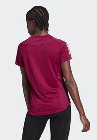 adidas Performance - OWN THE RUN TEE - T-shirts med print - powber/white - 1