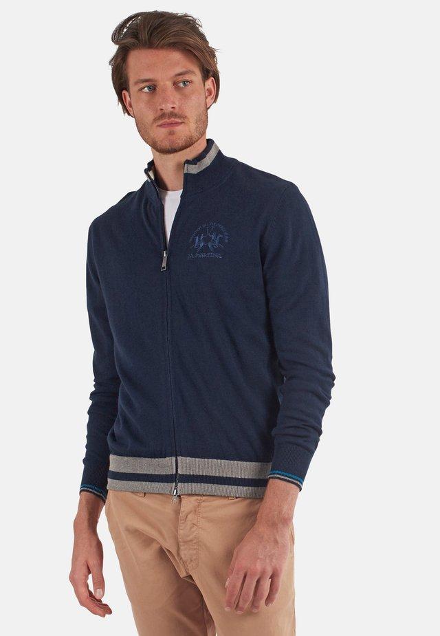 OMKE - Zip-up hoodie - navy