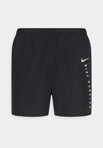 Korte sportsbukser - black/silver