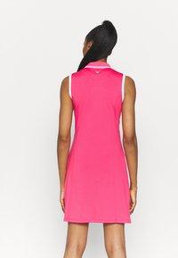 Callaway - GOLF DRESS WITH TIPPING - Sports dress - raspberry sorbet - 2