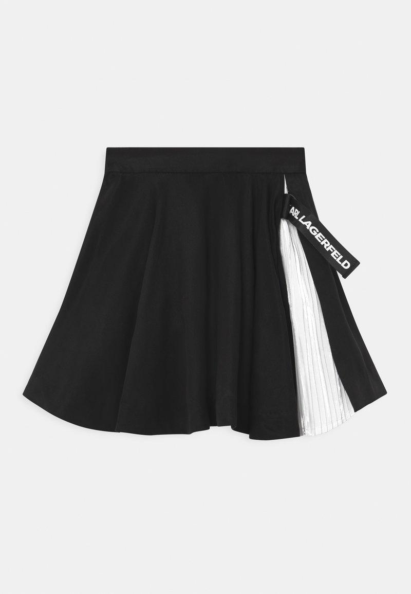 KARL LAGERFELD - Mini skirt - black