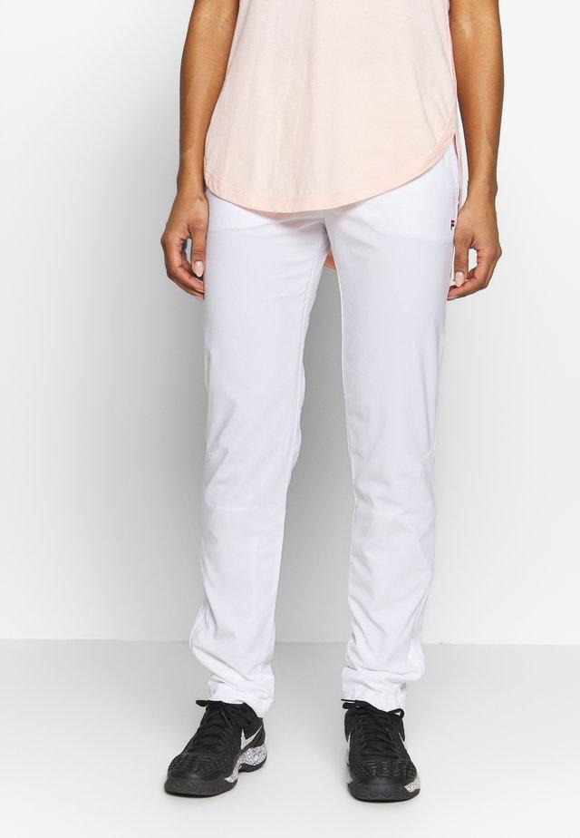 PANT PATTY - Verryttelyhousut - white