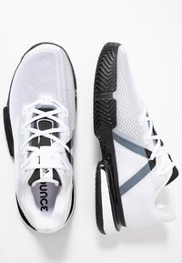adidas Performance - SOLEMATCH BOUNCE - Clay court tennis shoes - footware white/core black - 1