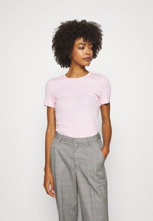 ESSENTIAL SKINNY TEE - T-shirt print - pastel pink