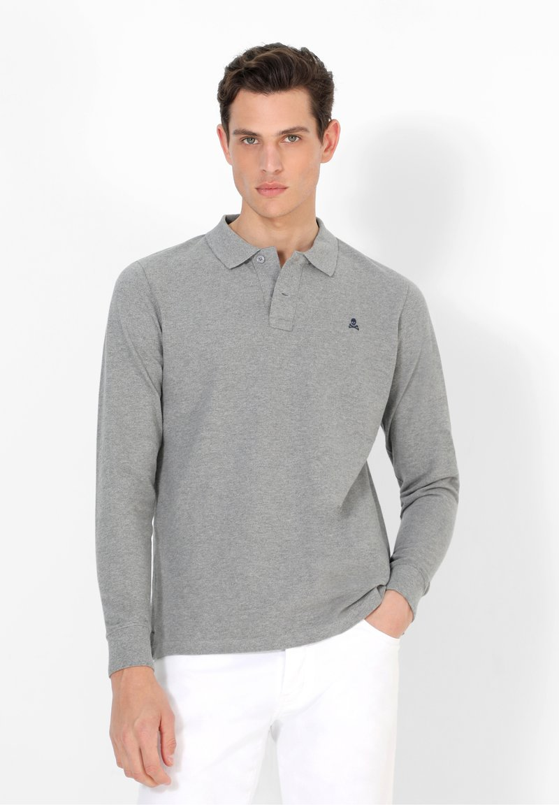 Scalpers - Polo shirt - grey melange