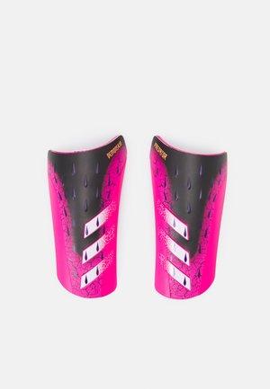 UNISEX - Protège-tibias - black/white/pink