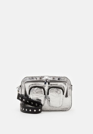 ELLIE COOLING - Across body bag - silver