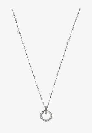 Necklace - silver- coloured