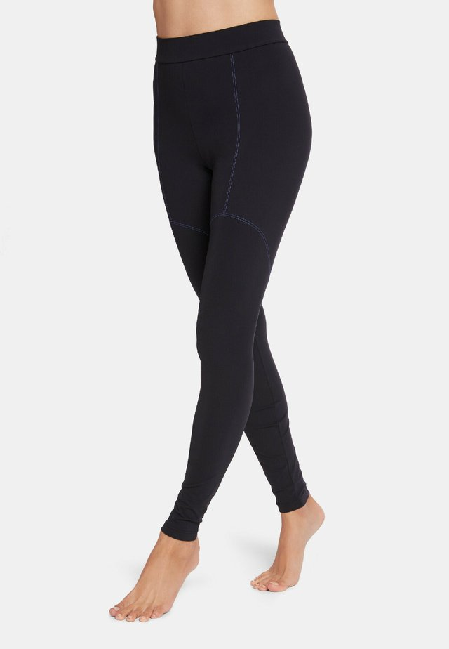 TORI - Legging - black/egyptian blue