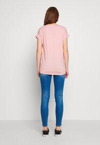 Vila - VIDREAMERS PURE  - Basic T-shirt - pale mauve - 2