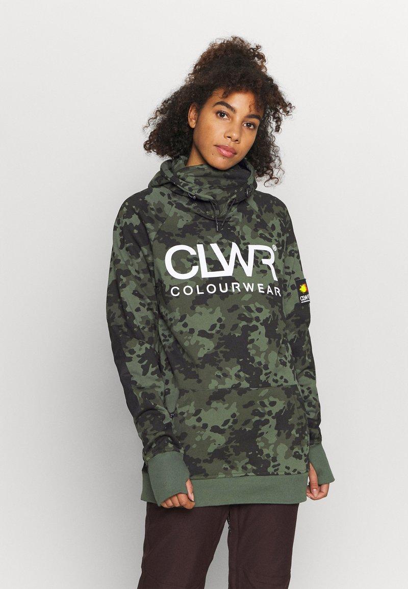 COLOURWEAR - BOWL HOOD - Sweatshirt - khaki