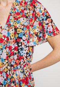 Rebecca Minkoff - SORCHA DRESS - Denní šaty - black/multi - 7