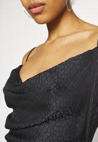 Sixth June - LEOPARD DRESS - Cocktail dress / Party dress - black - 6