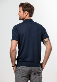 Francesco Fabbri - Polo shirt - dunkelblau - 1