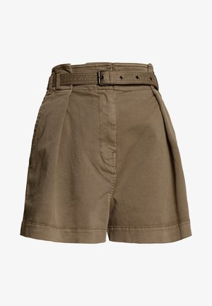 MODERN FIT HIGH RISE - Shorts - shaded walnut
