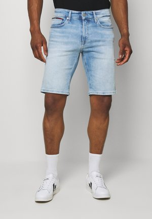 SCANTON  - Denim shorts - court light blue