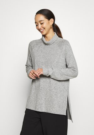 VMTAMMI HIGH NECK  - Svetr - light grey melange