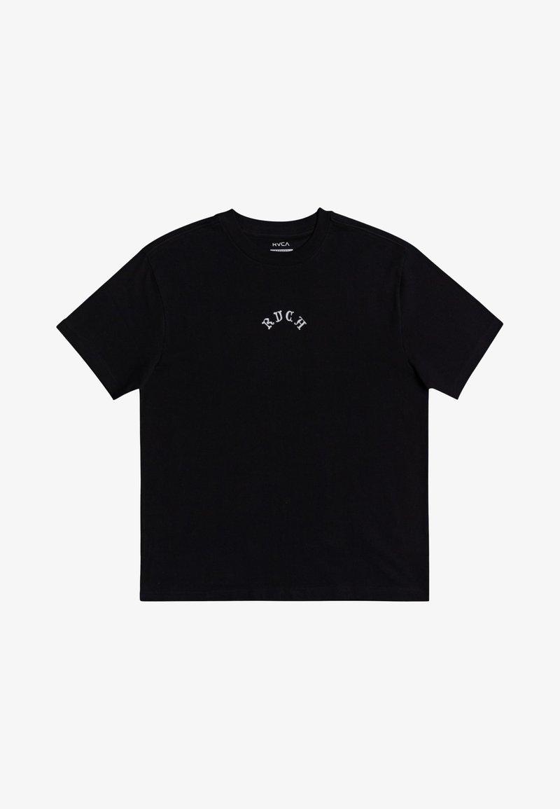 RVCA - Print T-shirt - black