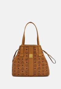 MCM - PROJECT SHOPPER - Shoppingveske - cognac - 3
