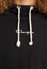 Champion Reverse Weave - SLEEVE LOGO HOODED - Langærmede T-shirts - black - 5