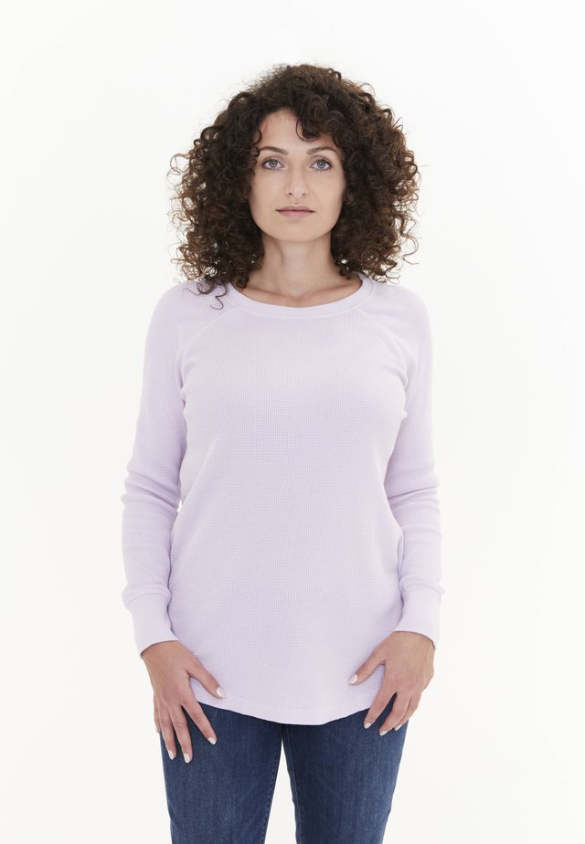 MYRIAD THERMAL - Long sleeved top - rauchiges lavendel