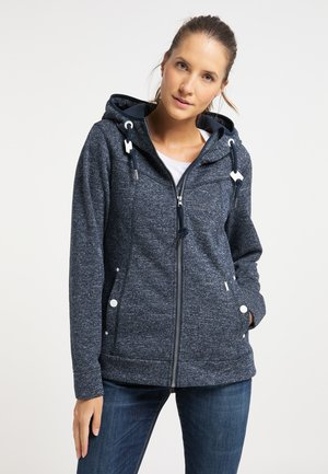 Fleece jacket - marine melange