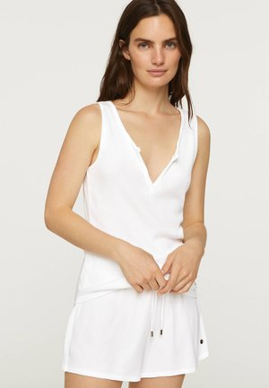 COTTON SHORTS - Nattøj bukser - white